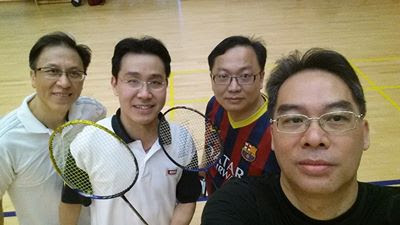 PolyU DBA Badminton Games at IVE Chai Wan – 8/3/2014