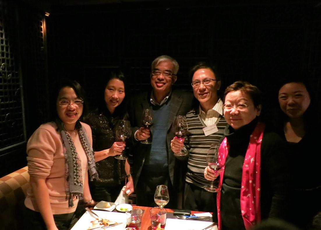 DBA and DMgt Wine Tasting & Dinner 5/1/2013