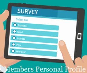 DBAAA Members Personal Profile Survey