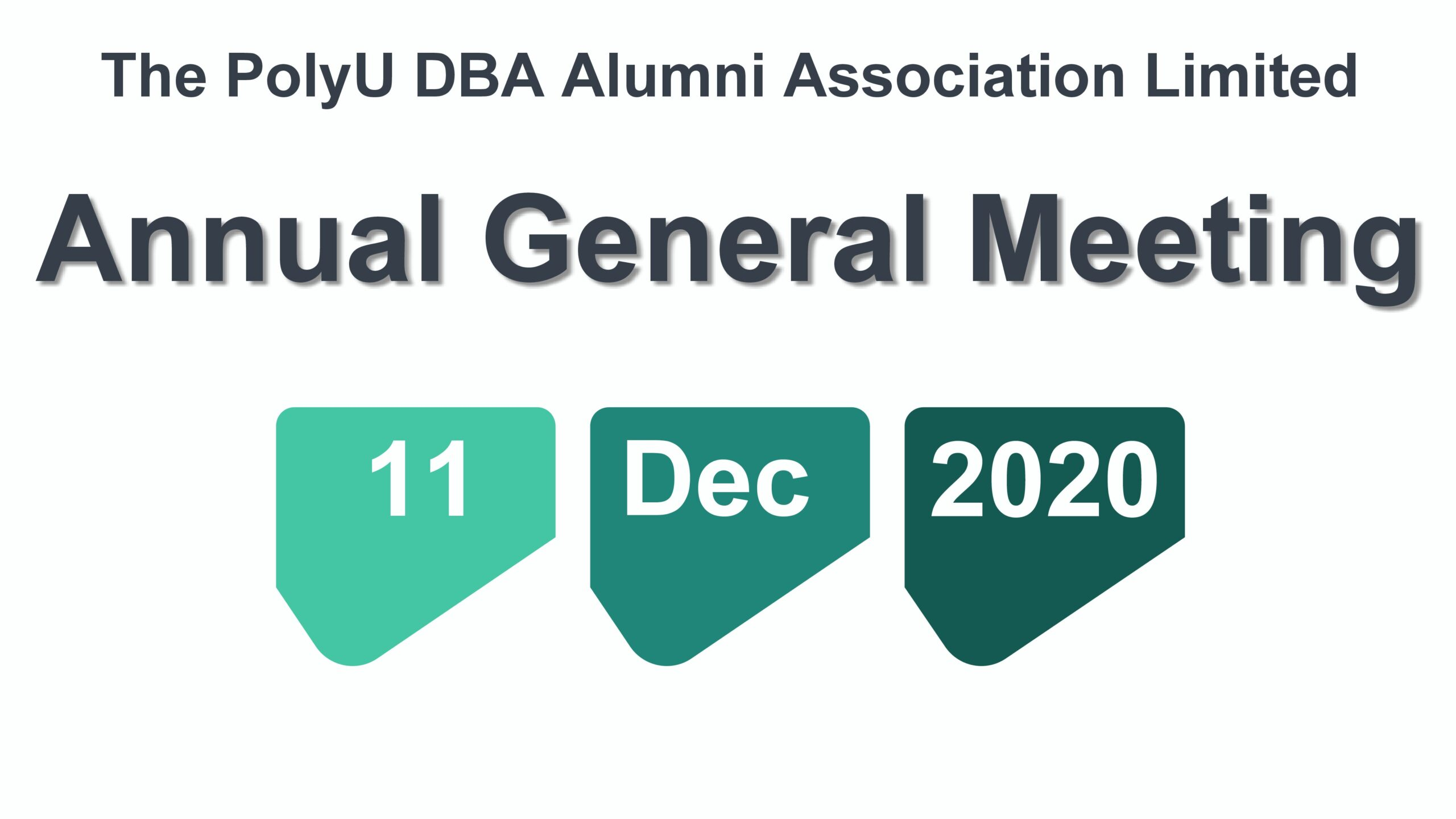 DBAAA 2020 Annual General Meeting